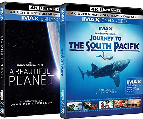 A Beautiful Planet 4K UHD + Journey to the South Pacific 4K UHD IMAX Bundle