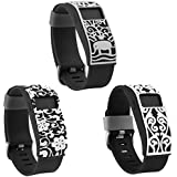 Henoda Band Cover for Fitbit Charge/Fitbit Charge HR Slim Designer Sleeve Protector Accessories