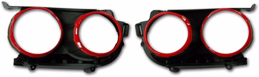OEM Parts Red Bezel Head Lamp Protective Cover 2P For GM Chevrolet Sonic 2012+