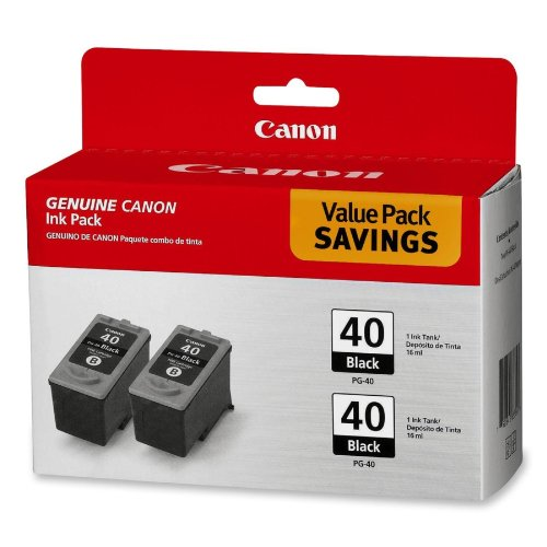 CNMPG40TWINPK Canon PG 40 Twin Pack Cartridges product image