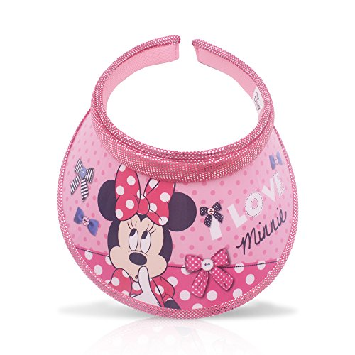 Finex Random - Minnie Mouse Cartoon Character Sun Visor Hat for UV Protection for kids boys and girls beach swimming pool golf course backyard Designed in Korea for $<!--$16.99-->