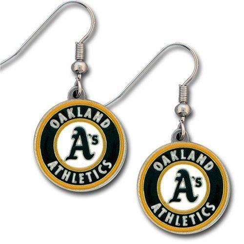 new product 2fb5f 821e6 Oakland Athletics Dangle Earrings - MLB Baseball Fan Shop Sports Team  Merchandise