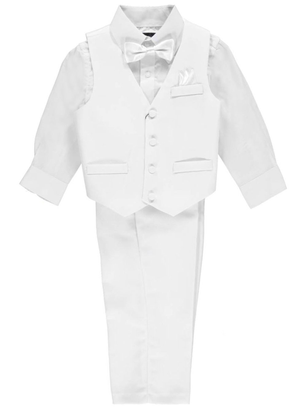 Vittorino Little Boys' Toddler 4-Piece Vest Set 2t
