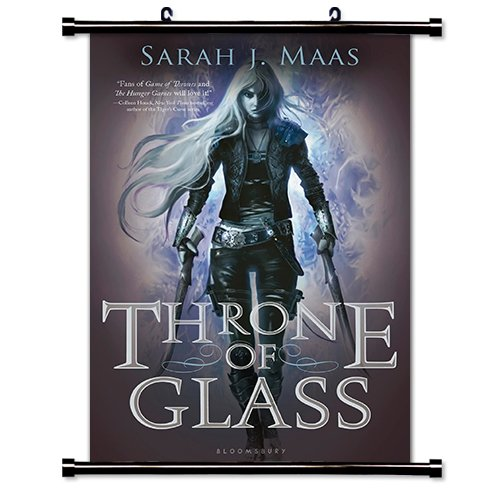 Throne of Glass (Sarah J Maas) Fabric Wall Scroll Poster (16 x 24) Inches