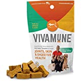 Vivamune: Tasty Health Dog Chew Supplement - Dog Vitamins For All Breeds & Ages - 60 Chews - Aid Immune System & Digestion - Maintain Healthy Joint & Hip Function - Itching & Allergy Support