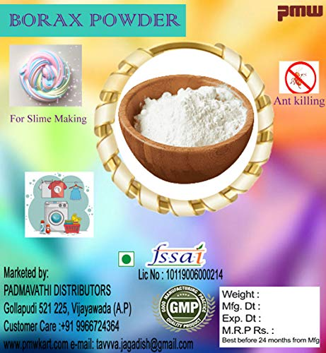 pmw Sodium Borate Borax Powder Laundry Cleaning Booster from Insect, Ants, Bed Bug, 1kg (e4532) Price & Reviews