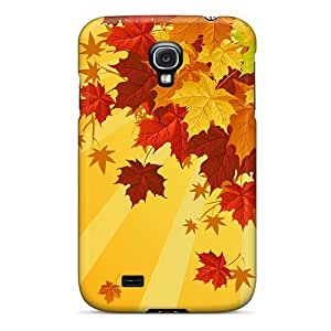 Galaxy S4 Case Cover Skin : Premium High Quality Colorful Autumn Case
