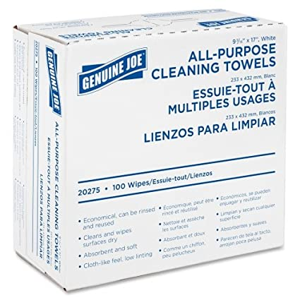 Wholesale CASE of 15 - Genuine Joe All-Purpose Cleaning Towels-Towels, Cleaning