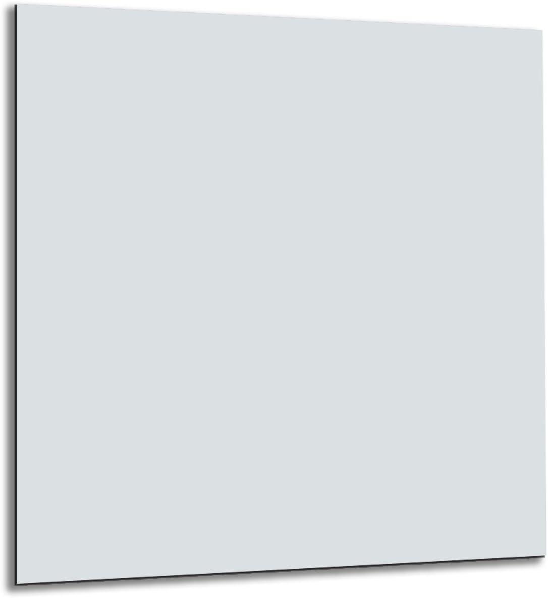 Pannello para-schizzi in vetro temperato resistente al calore per proteggere la parete dei fornelli in cucina 50 x 50 cm Azure Fmk-35-056