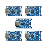 Diymore 5pcs TP4056 Type-C USB 5V 1A 18650