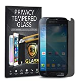 gorilla glass samsung s4 mini - Samsung Galaxy S4 Mini Privacy Tempered Glass, 1-Pack Premium Anti-Spy Privacy Black Tempered Glass Screen Protector For Samsung Galaxy S4 Mini