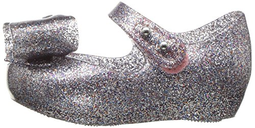 Mini Melissa Girls' Mini Ultragirl Bow III Ballet Flat, Multicolor Glitter, 10 Medium US Toddler - Image 5