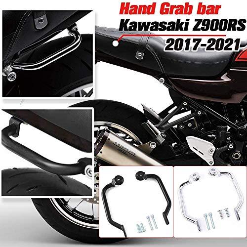 Lorababer Motorfiets Achterste passagier Hand Grijp Bar Achterbank Railhandgreepset Geschikt voor Kawasaki Z900RS Z…