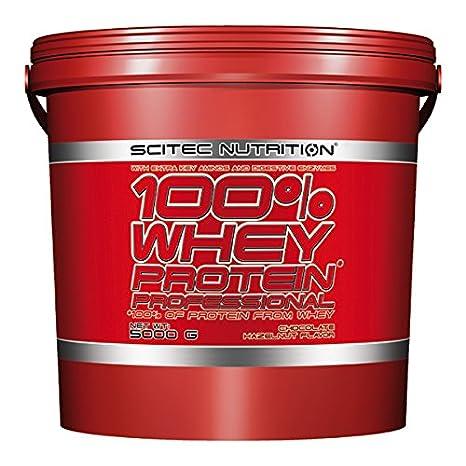 Scitec Nutrition Whey Protein Professional proteína chocolate-avellana 5000 g: Amazon.es: Salud y cuidado personal