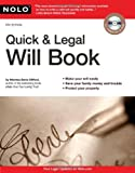 Quick and Legal Will Book, Denis Clifford, 1413313892