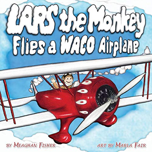 Lars the Monkey Flies a Waco Airplane for sale  Delivered anywhere in USA