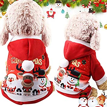 Idepet Perro Gato Sudadera con Capucha Abrigo de Invierno cálido otoño Invierno de Mascota Ropa para
