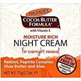 Palmer's Cocoa Butter Formula Moisture Rich Night Cream, 2.70 oz, Pack of 1