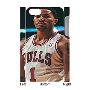 3DDrose Ing Back Strong to a Solid Bulls Roster. For Apple Iphone 4/4S Case Cover Cute for Girls, For Apple Iphone 4/4S Case Cover Boys [White]