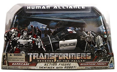 Transformers Movie 2 Human Alliance - Barricade with Frenzy