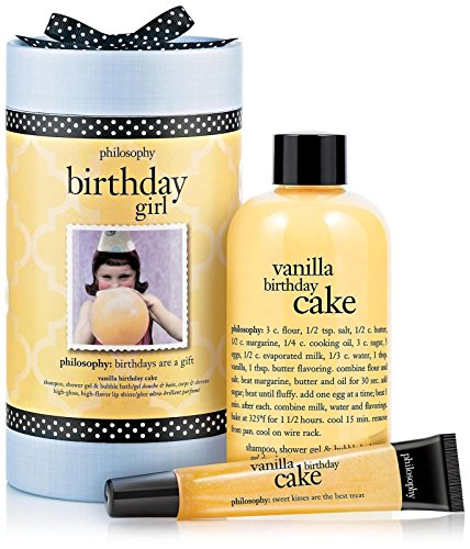 Gift Happy Set Birthday (Philosophy Birthday Girl)