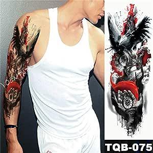 Tatuaje de manga de brazo grande Tatuaje de leopardo de medianoche ...