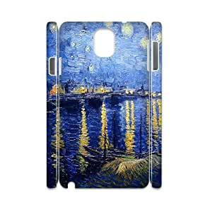 Diy Van Gogh Painting Phone Case for samsung galaxy note 3 3D Shell Phone JFLIFE(TM) [Pattern-1]