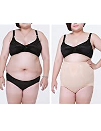 Women's High Waist Tummy Control Slim Shapewear Panty Plus Size