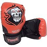Luva de Boxe Muay Thai Elite Pro - Santa Muerte - 08 a 16 OZ - Toriuk