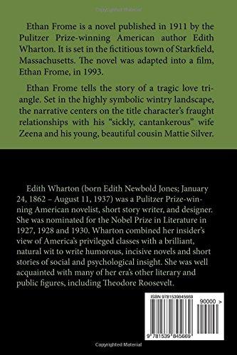 ethan frome annotated edith wharton amazon com ethan frome annotated edith wharton 9781539845669 amazon com books