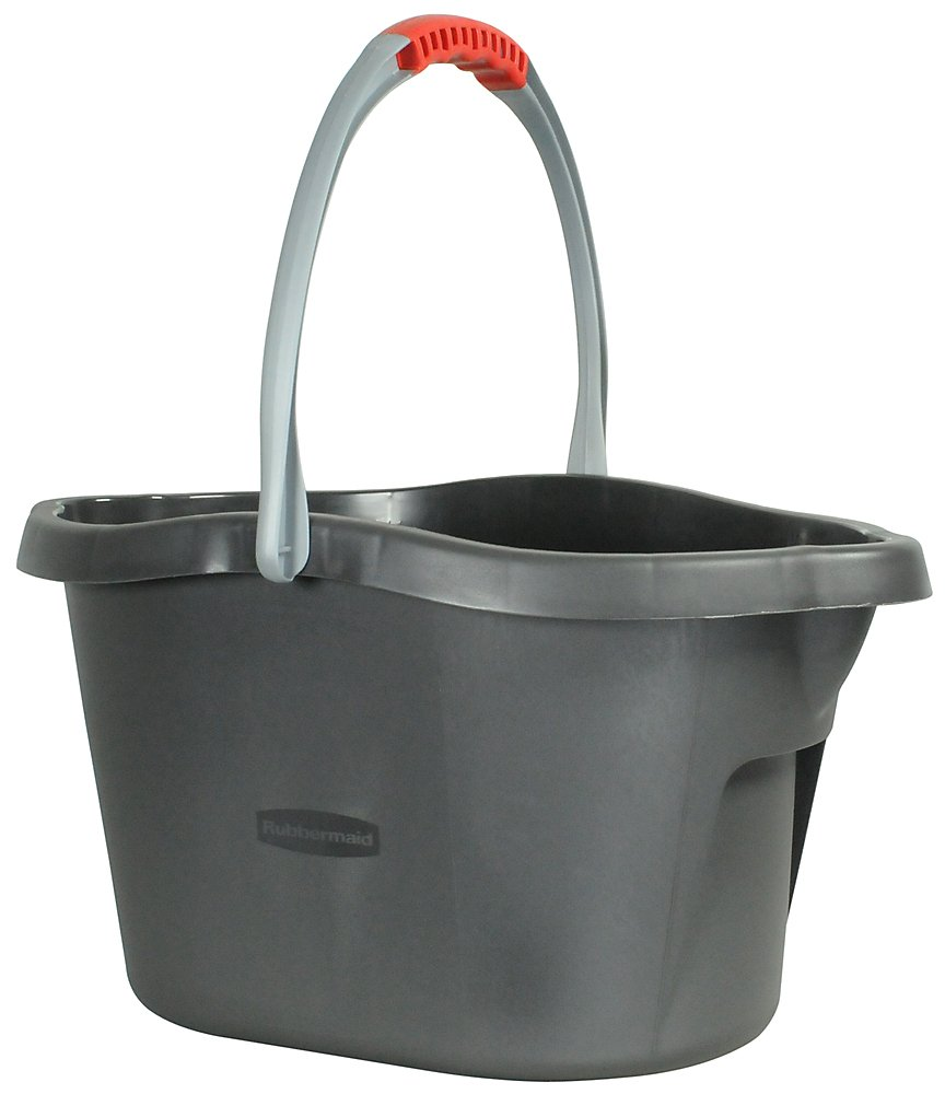 Rubbermaid Neat 'n Tidy Bucket, 15 qt., Grey (1859060)