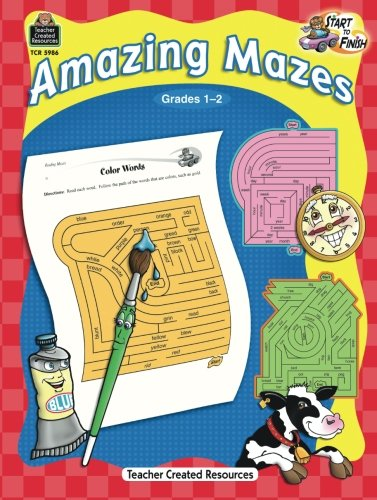 UPC 088231959861, Start to Finish: Amazing Mazes Grd 1-2