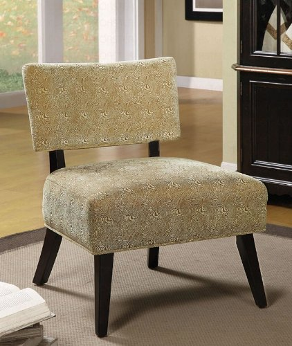 (VIDEO Review) French Vanilla Swirl Accent Chair By Coaster Furniture