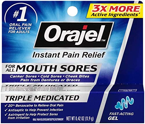 Orajel Mouth Sore Gel 0 42 Ounce Buy Online In Uae
