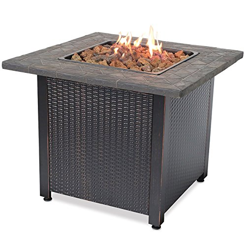 Endless Summer GAD1420M, LP Gas Outdoor Fire Table, Multi Color
