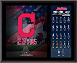 "Cleveland Indians 12"" x 15"" 2017 Record Winning Streak Sublimated Plaque - Fanatics Authentic Certified"