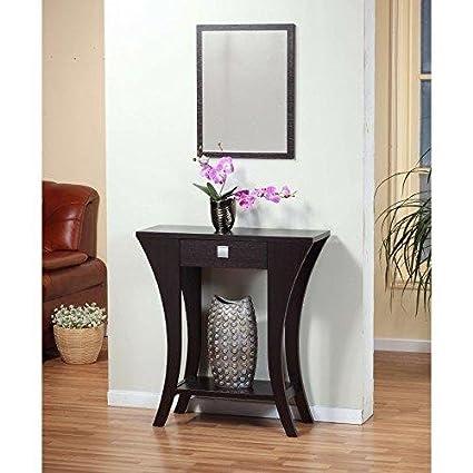 Astounding Amazon Com Modhaus Living Modern Dark Brown Narrow Sofa Pdpeps Interior Chair Design Pdpepsorg
