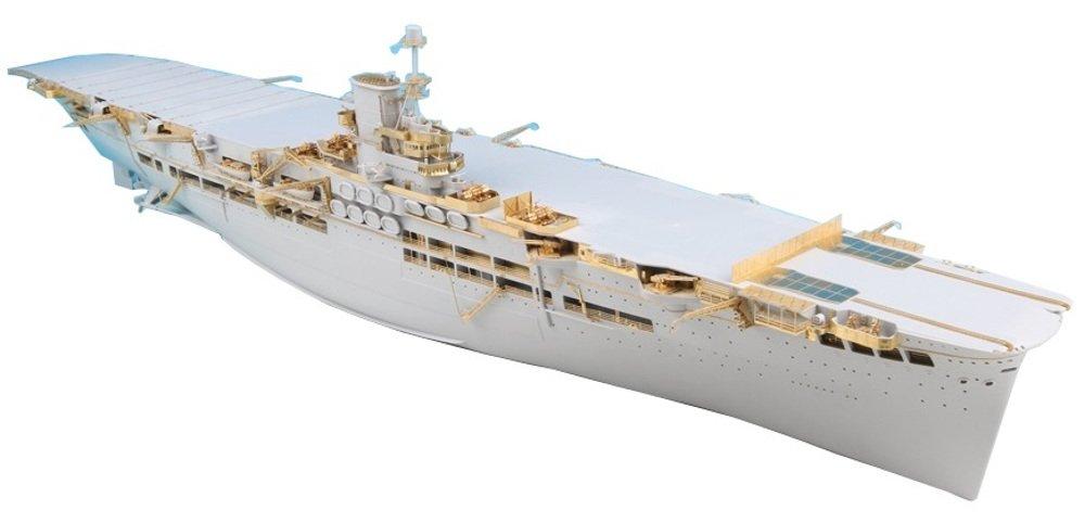 テトラモデルワークス 1/350 イギリス軍 空母 アークロイヤル用 ME社用 艦船アクセサリーパーツセット プラモデル用パーツ SE3509 B06XVL9C2Z