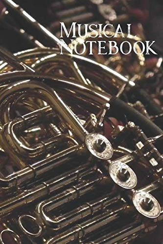 Girl Horn Instruments (Musical Notebook: French Horn Student and Teacher Writing Journal For Music Lessons)