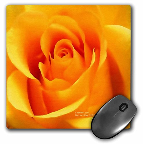 Lee Hiller Designs Roses - Golden Yellow Rose - MousePad (mp_5020_1) ()
