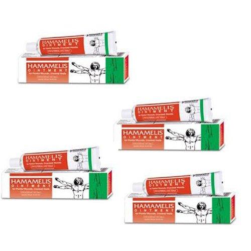 4 X Bakson's Homeopathy - Hamamelis Ointment Bleeding Piles.