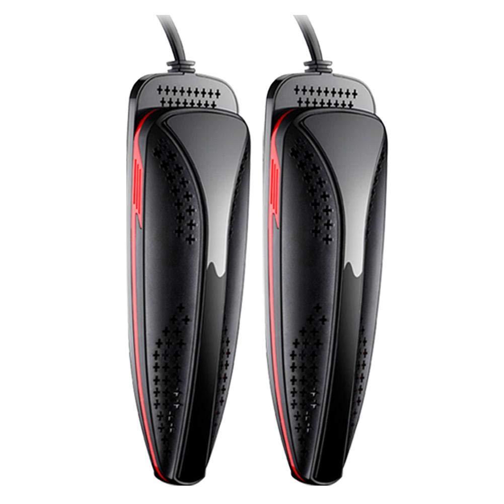 Zmsdt Secadora eléctrica portátil y sin Ruido para Sus Zapatos, Forro, Botas, Calentadores de Guantes, eliminadores de olores, secadores temporizados: ...