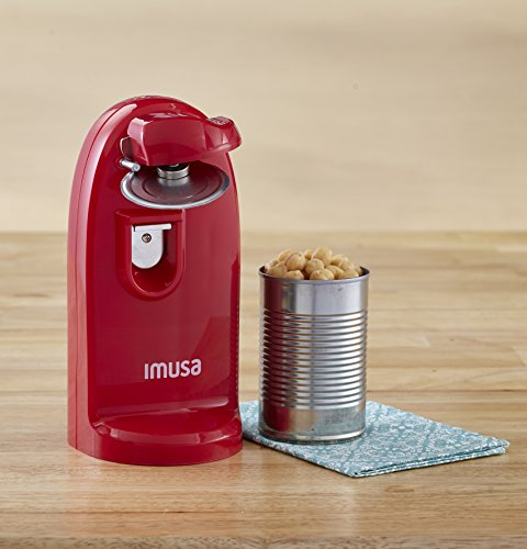 IMUSA USA GAU-80322R Electric Can with Opener and Knife