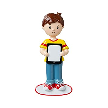 Amazon.com: Personalized Boy with Ipad I Have a Pic ...