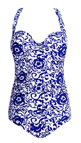 Wantdo Womens Oriental Porcelain Swimsuit product image