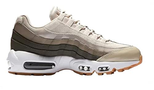 04d101ada9 Image Unavailable. Image not available for. Color: Nike Women's Air Max 95  Running Desert Sand/White Shoes Size 10.5