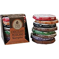 Taza Chocolate Organic Mexicano Disc Stone Ground, Variety Pack, 1.35 Ounce (8 Count), Vegan