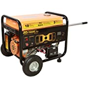 DEK Pro Series 10,000 Watt, Commercial Generator with Electric Start battery included