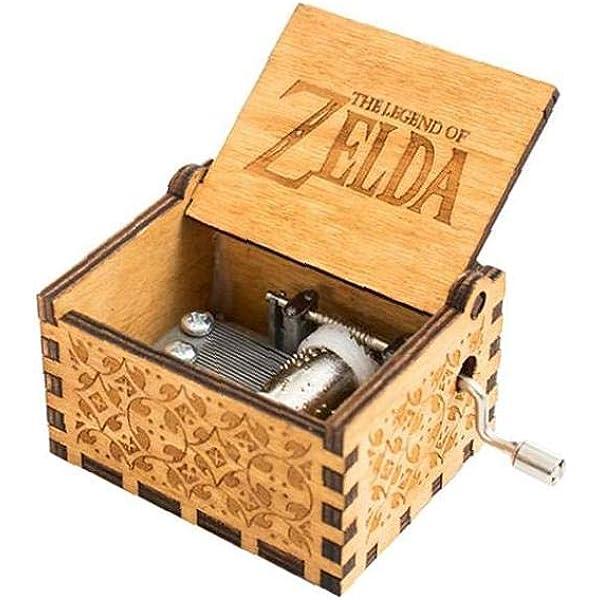 LAANCOO Zelda Caja De Música Clásica De Madera Caja De ...