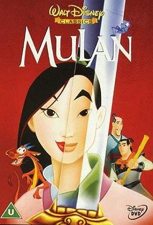 Amazon Com Mulan Animated Dvd Movies Tv